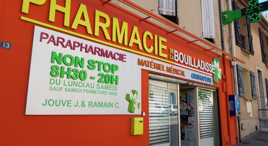 Pharmacie de la Bouilladisse